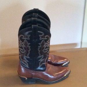 Other - Excellent! Men's Cowboy Boots Sz 6 D Leather upper